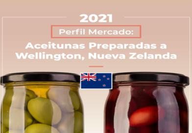 Perfil Mercado: Aceitunas preparadas y conservadas a Nueva Zelanda